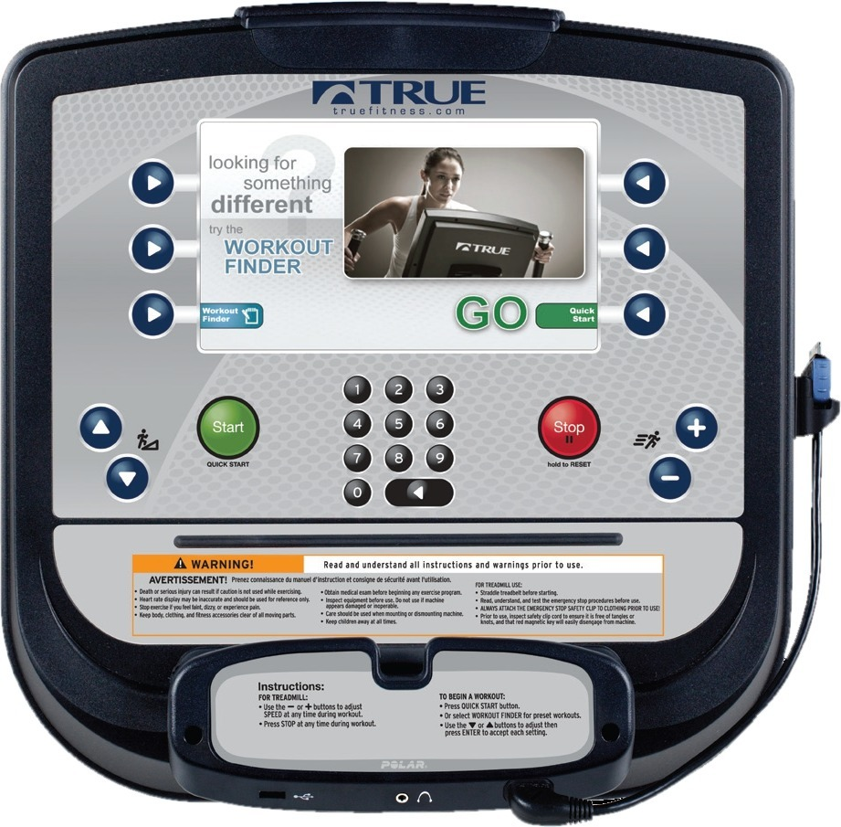 Orbitrek elektryczny CS400 Escalate 9 - True Fitness