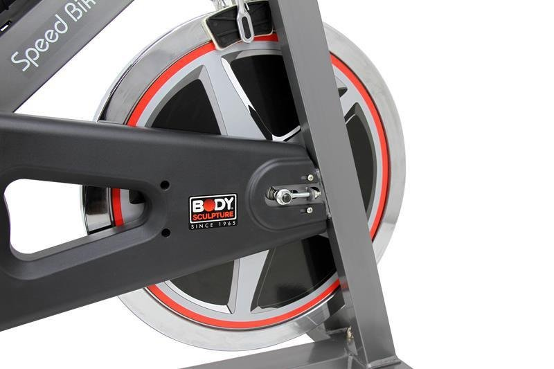Rower spiningowy Speed Bike Silver BC 4611 13 KG - Body Sculpture
