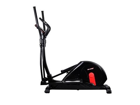 Orbitrek elektromagnetyczny HS-55E Elite czarno-czerwony - Hop Sport